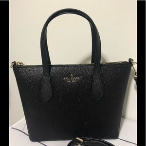 New Kate Spade glitter satchel crossbody 2019 Xmas